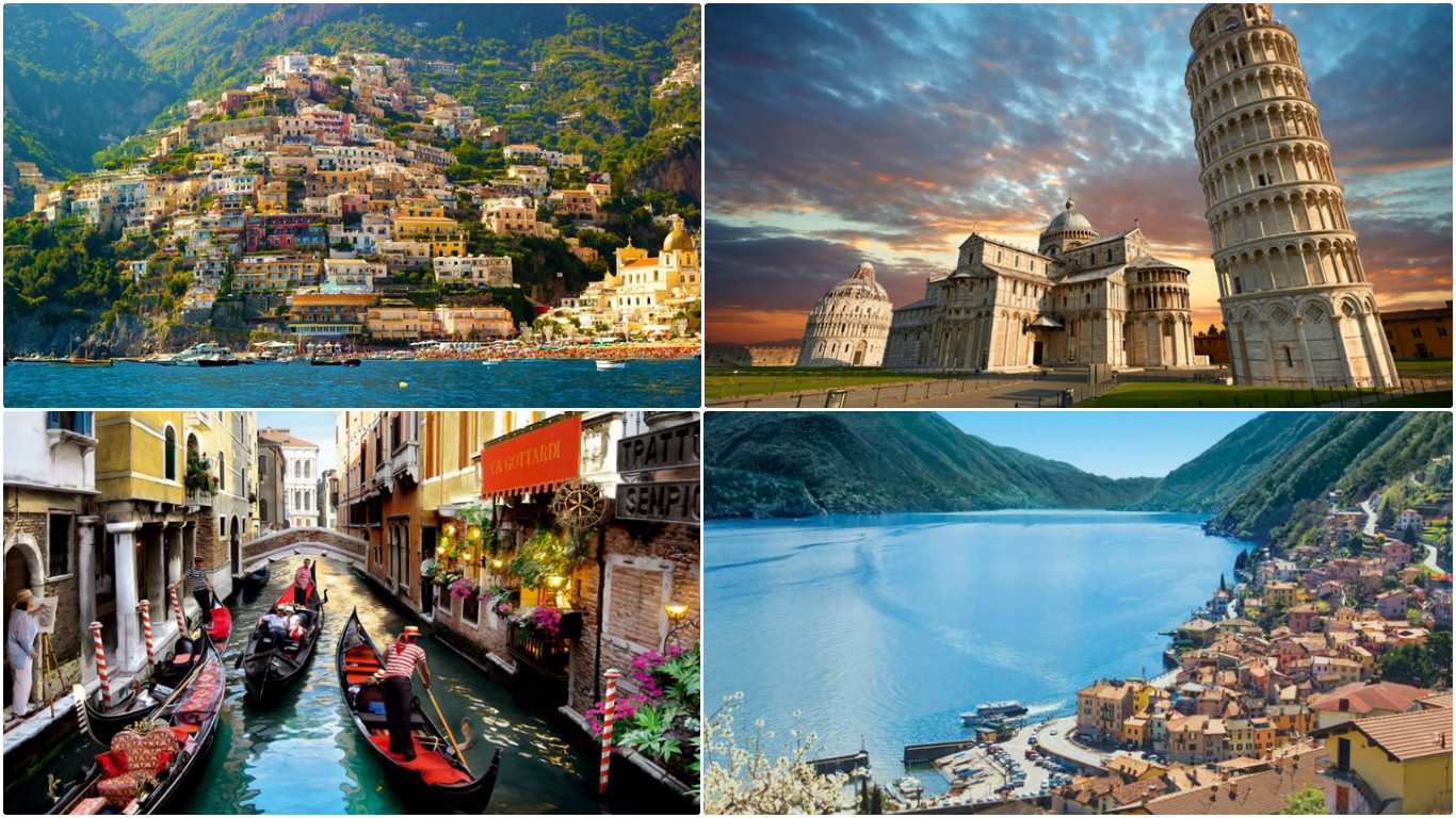 Top 10 most loved places in italy for Best place in italy