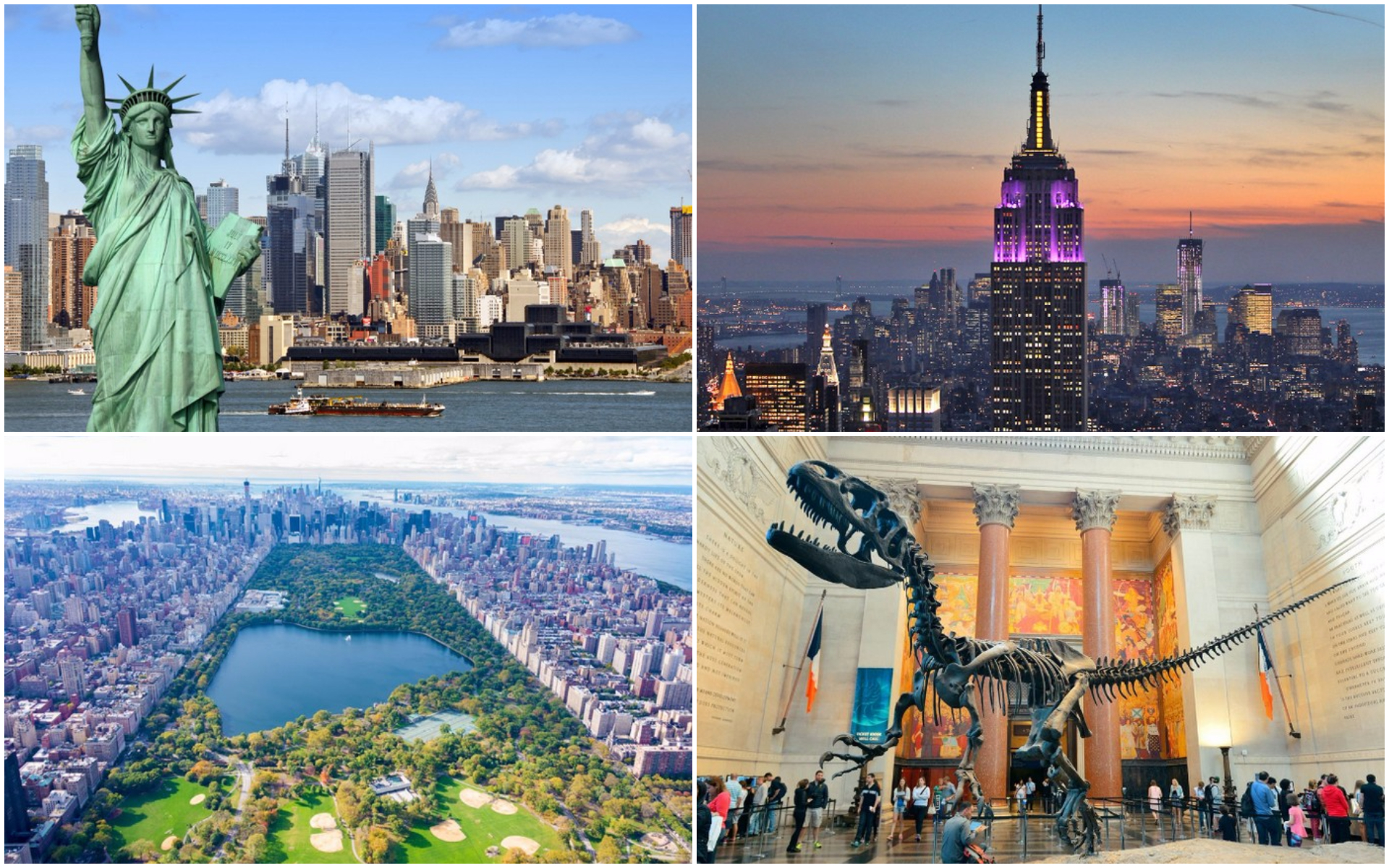 Top 10 most popular new york city attractions for Top attractions in nyc