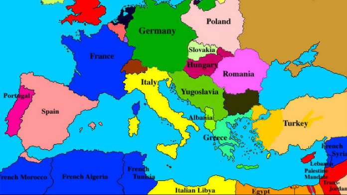where is europe on the world map Militarybraliciousco