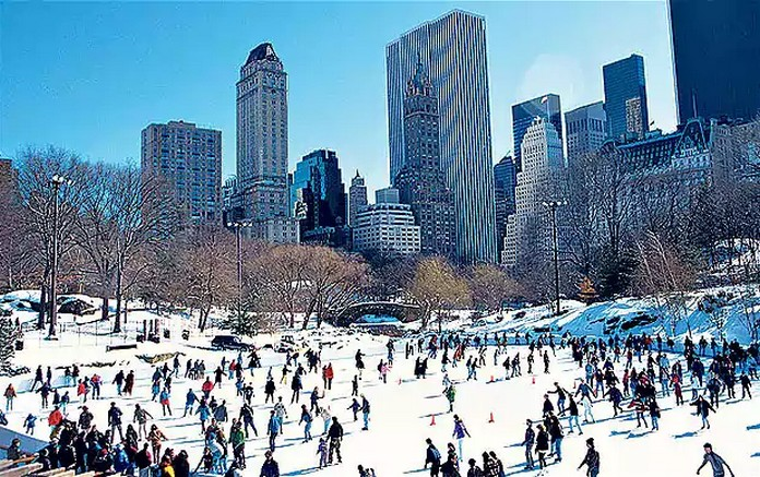 10 places to visit in the usa at winter for Things to do in nyc during winter