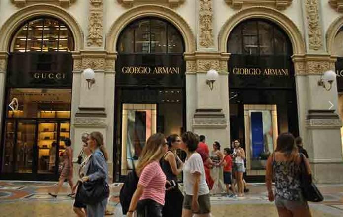 Top 5 shopping streets in milan for Designer outlet milan