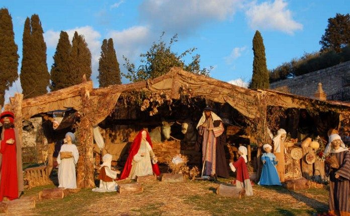 The Tradition Of Presepi Or Christmas Cribs Is Widespread In Italy