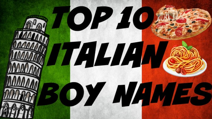 Italian Boy Name: Top 10 Italian Baby Boy Names