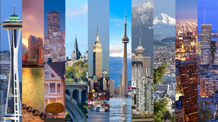 biggest cities in north america