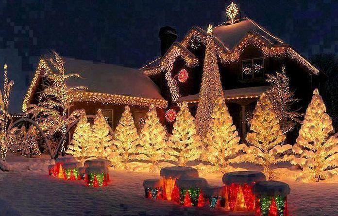 Christmas in USA, (10 photos)