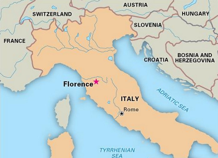 Where is Florence located in Italy? |