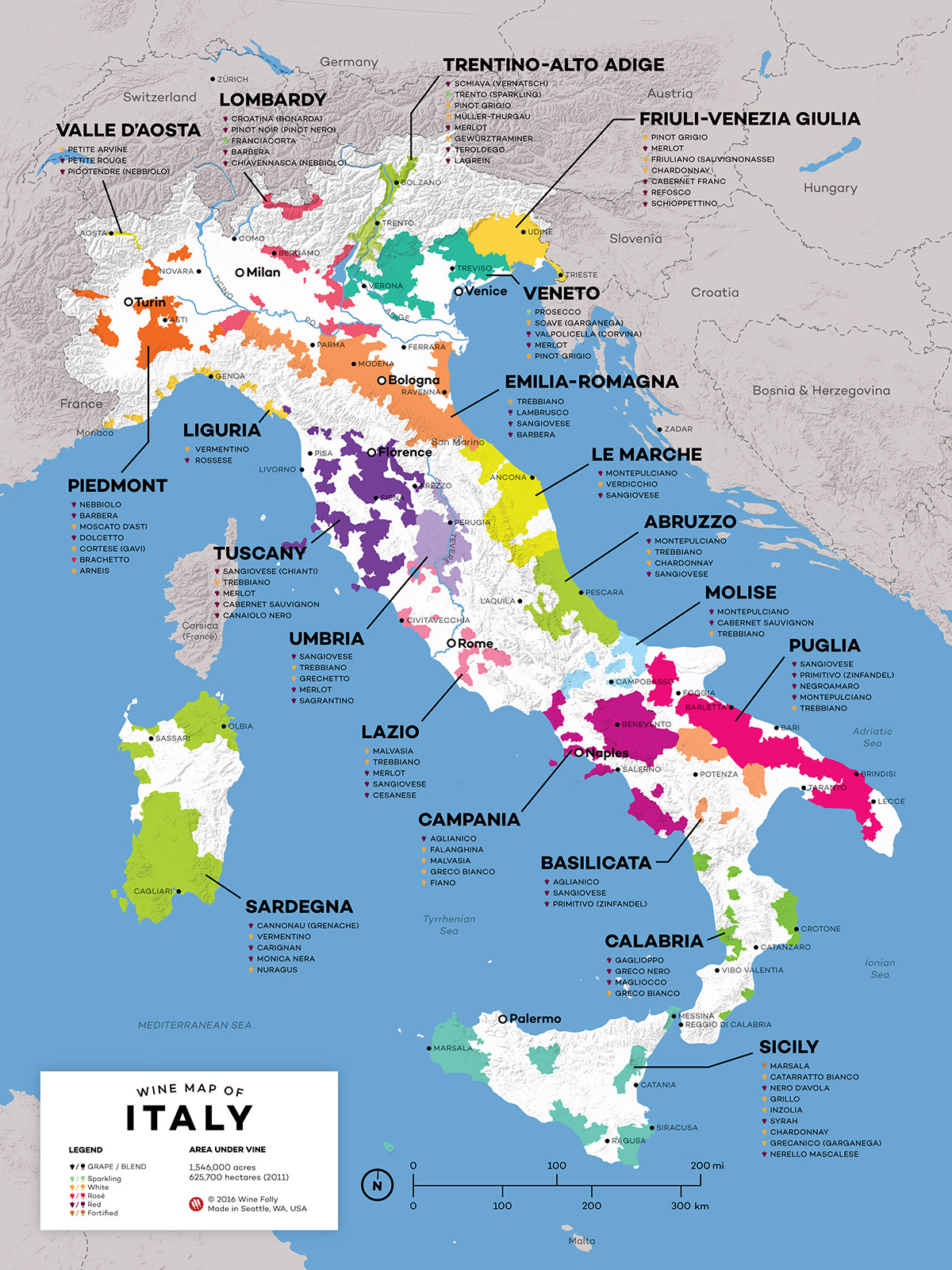 Map Of Italt Map Of Italt | Color 2018